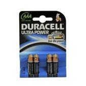 Duracell batterij ultra power aaa penlite 4 stuks
