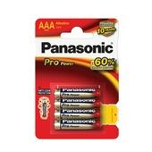 Panasonic Pro Power alkaline AAA-batterijen 4 st