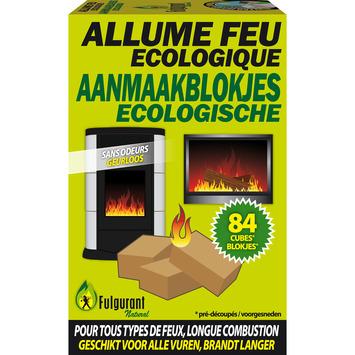 Cubes allume-feu écologiques Fulgurant 84 pièces