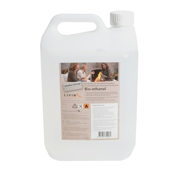 Bioéthanol Livin flame 5 L