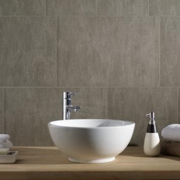 Grosfillex paneel Element XL PVC stone taupe 2,925 m²