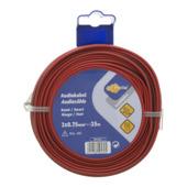 Câble audio Profile 2 x 0,75mm² rouge/noir 25 m