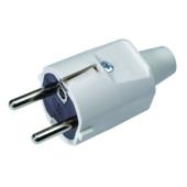Profile stekker 2-polig 16 A wit 3x1,5 mm²