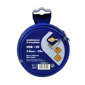 Profile VOB-kabel blauw 2,5 mm² - lengte 10 m