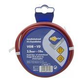Câble Profile VOB rouge 2,5 mm² - long. 10 m