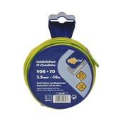 Profile VOB-draad groen-geel 2,5 mm², 10 m