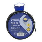 Profile VOB-kabel zwart 2,5 mm² - lengte 10 m