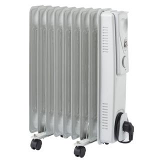 Oliegevulde radiator 9 elementen 2000 W
