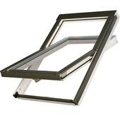 Optilight Fenêtre de toit VB-W bois laqué blanc 78x98 cm