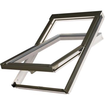 Optilight Fenêtre de toit VB-W bois laqué blanc 55x78 cm
