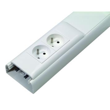 Legrand DLP kabellijstkit wit 35x80 mm - lengte 2,1 m