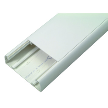 Moulure DLP design Legrand blanc 85 mm 105x35 mm 210 cm