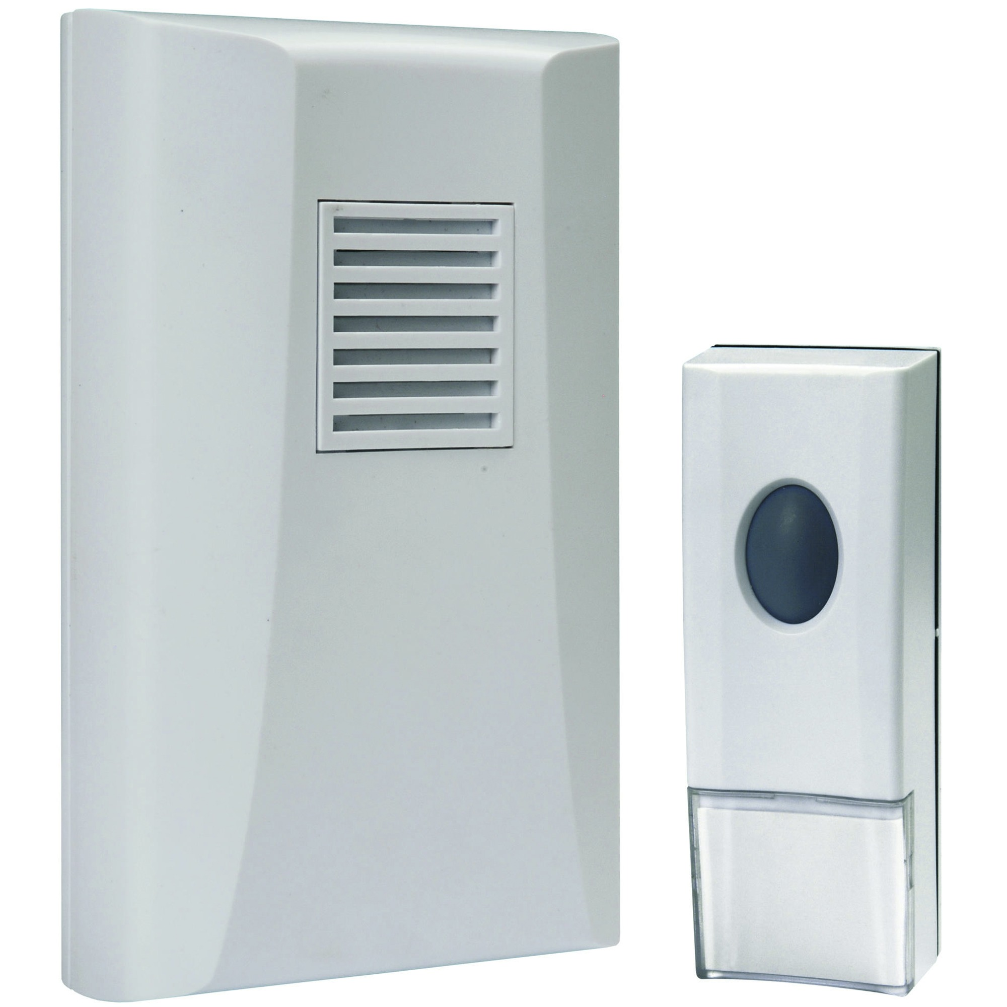sonnette sans fil elro sonnettes intercom quincaillerie porte portes et fen tres. Black Bedroom Furniture Sets. Home Design Ideas