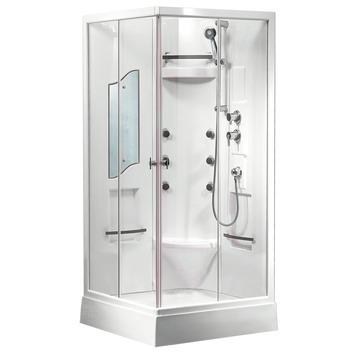 Cabine de douche complète Rinka Van Marcke 90x90x205 cm verre de ...