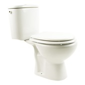 Pack WC Roma Lafiness 3/6l sortie mur H blanc