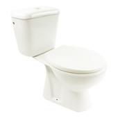 Pack WC Pronto Lafiness 3/6l sortie sol CA blanc