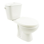 Pack WC Pronto Lafiness 3/6l sortie mur H blanc