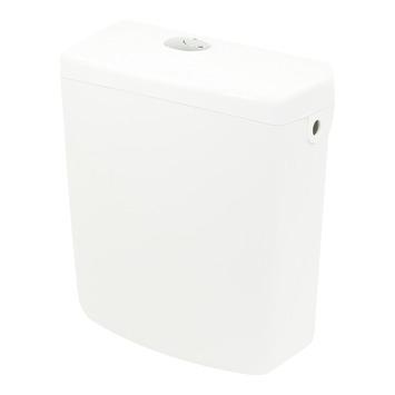 Allibert Uno toiletreservoir 3/6l kunststof wit