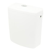 Allibert Uno toiletreservoir 3/6l kunststof wit