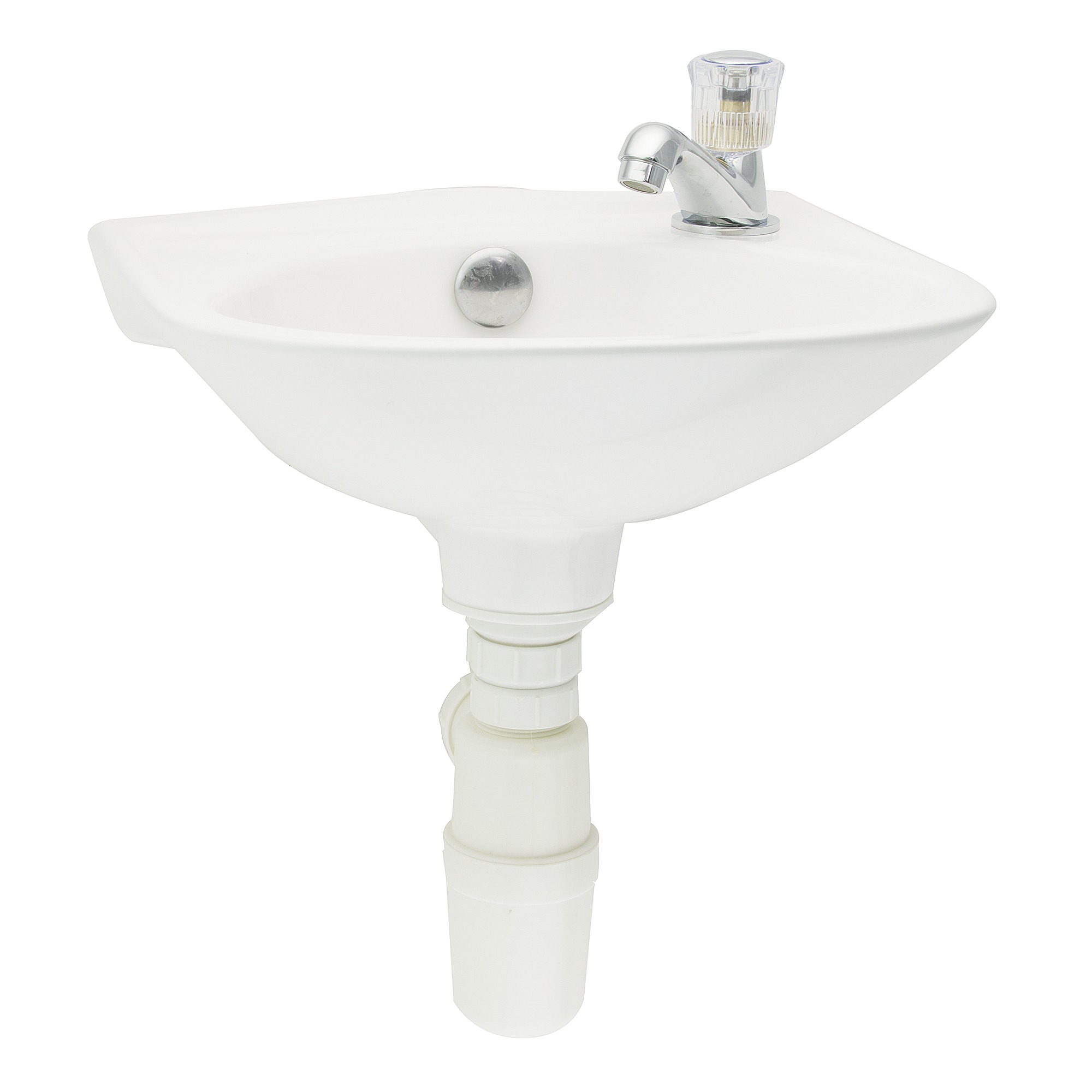 ensemble lave mains gaia avec robinet et siphon blanc lave mains lavabos lave mains. Black Bedroom Furniture Sets. Home Design Ideas