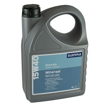 GAMMA motorolie 15w40 mineraal 4 L