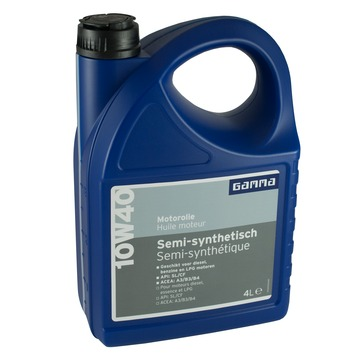 GAMMA motorolie 10w40 semi-synthetisch 4 L