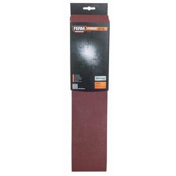 Jeu de bandes abrasives Ferm 100x915 mm K60, K100 en K150 3 pièces