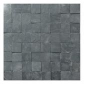 Briques de parement Stoneblock anthracite 4x4 cm