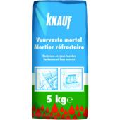 Knauf vuurvaste mortel 5 kg