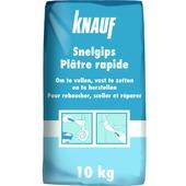 Plâtre prise rapide Knauf 10 kg