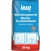 Mortier de jointoiement Knauf 25 kg gris