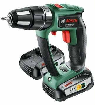 Bosch accuklopboormachine PSB 18 LI-2 Ergonomic