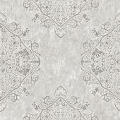 Gekleurd vliesbehang dessin marrakech grijs 100037 10 m x 52 cm