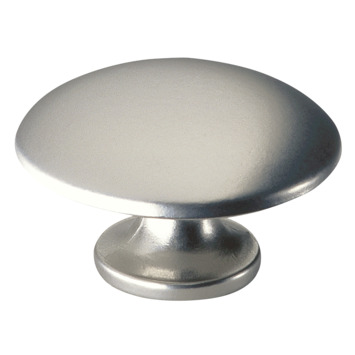 Bouton de meuble Sophia 35 mm nickel mat
