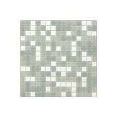Carrelage mural mosaique verre gris 2x2cm 1,07m²