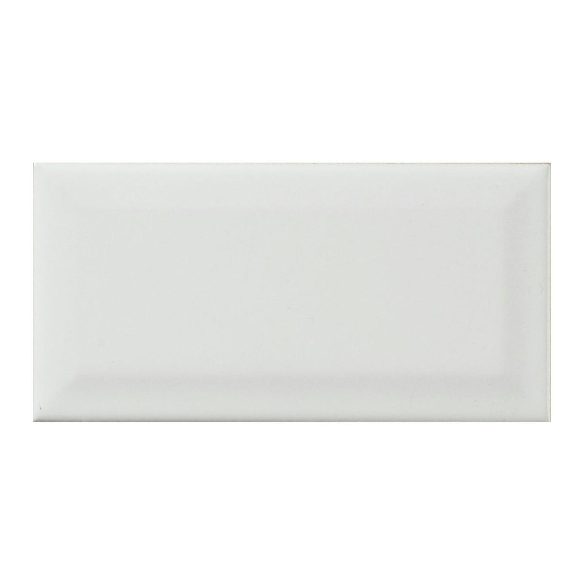 Wandtegel metro wit 7 5x15cm 0 5 m wandtegels tegels - Tegel metro wit ...