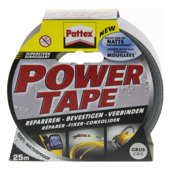 Pattex Powertape 25 m x 50 mm gris