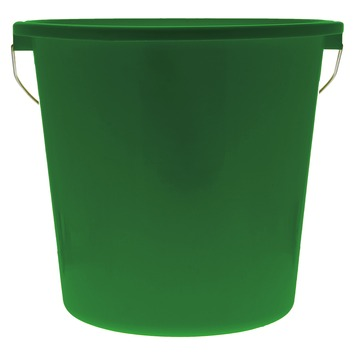 Seau de ménage vert 10 L