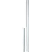 Latte de finition Optistep PVC blanc pour escalier de grenier