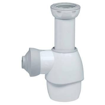 Siphon de lavabo universel Wirquin blanc