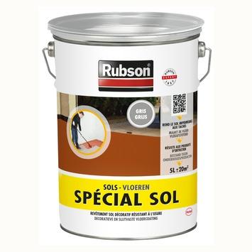 Rubson Speciaal vloerverf grijs 5 l + 10 % (5,5 l)