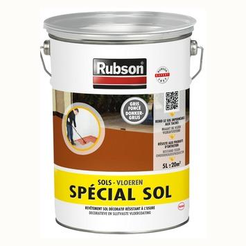 Rubson Speciaal Vloerverf donkergrijs 5 l