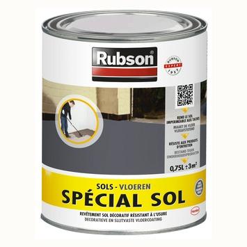Rubson Speciaal vloerverf donkergrijs 750ml
