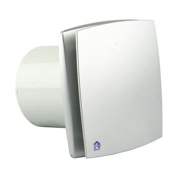 Renson mechanische ventilator met timer Ø100 mm PVC grijs