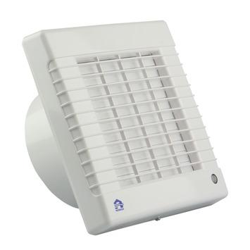 Renson afsluitbare mechanische ventilator 7221T met timer Ø100 mm wit