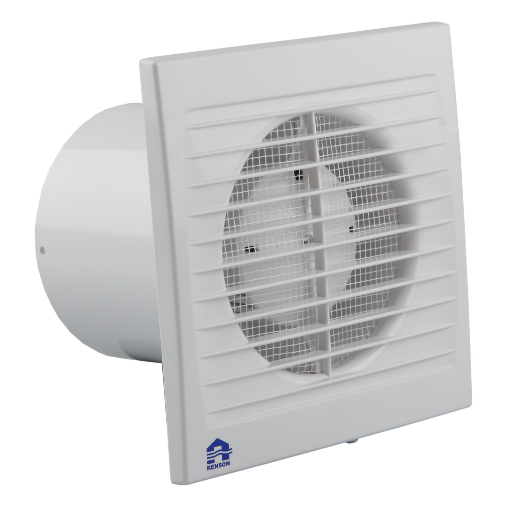 Extracteur avec minuterie renson greenwave 100 mm blanc for Extracteur d air 80 mm
