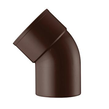 Coude EEP 45° Martens manchon à coller 80 mm brun