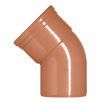 Coude EEP 45° Martens M 160 mm rouge brun