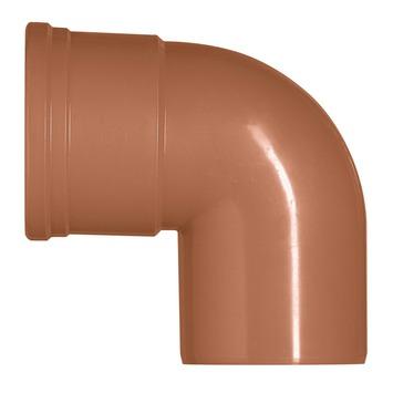Coude EEP 90° Martens M 160 mm rouge brun