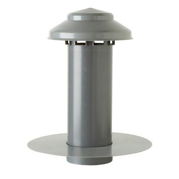 Gaine d'aération simple paroi Martens avec plaque 100 mm